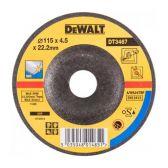 Шлифкруг по металлу вогнутый INOX, 115х22,2х4,0мм, DeWALT.  DT3467-QZ