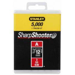 """Скобы  для степлера ручного """"Light Duty"""" тип """"А"""", 12мм, 1000шт. 1-TRA208T"""