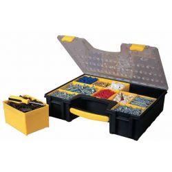 Органайзер профессиональный , пластмассовый, 423 x 105 x 334мм, с 8-мью съемными отделениями. 1-92-749