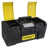 """Ящик для инструмента """" Basic Toolbox"""" пластмассовый, 394 x 220 x 162 мм (16""""). 1-79-216"""