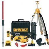 Ротационный лазерный уровень с аксессуарами DeWALT DW079PKH