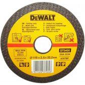 Шлифкруг по металлу вогнутый, 115х22,2х4,0мм, DeWALT