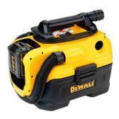 Аккумуляторный/сетевой пылесос DeWalt DCV584L